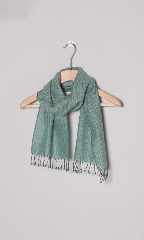 Woll-Schal, zweifarbig