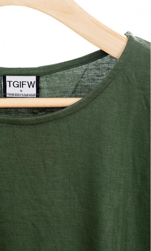 Loose Shirt - navy/schwarz