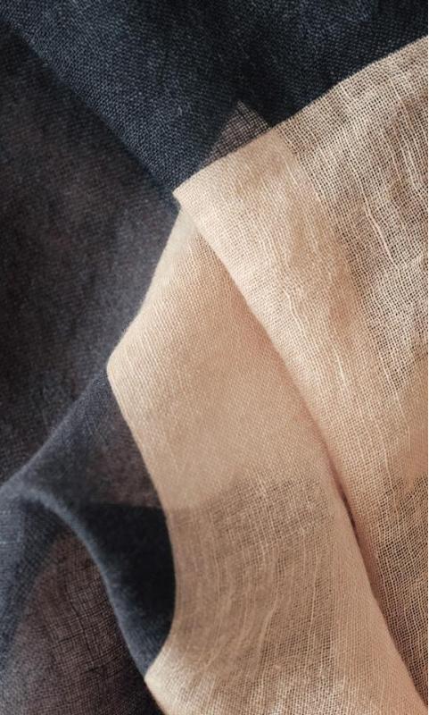 "Foulard ""Square"" - marron/navy (limited edition)"
